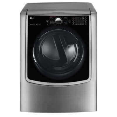 9.0 cu. ft. Large Smart wi-fi Enabled Electric Dryer w/ TurboSteam Product Image