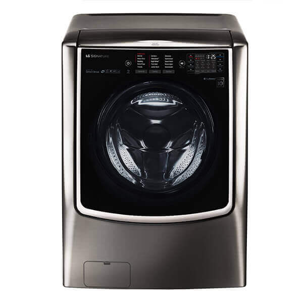 LG SIGNATURE 5.8 cu. ft. Large Smart wi-fi Enabled Front Load Washer Product Image