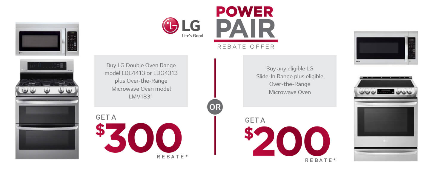 LG Power Pair Rebate