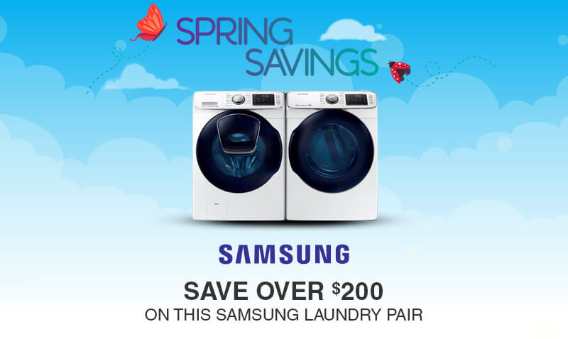 Buy More, Save More Samsung Appliances